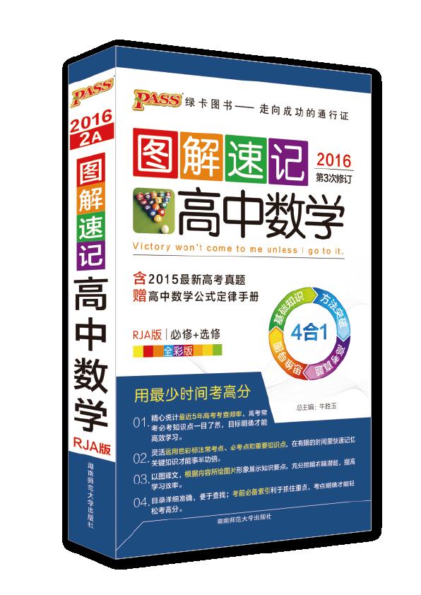 图解速记-高中数学(人教A版)